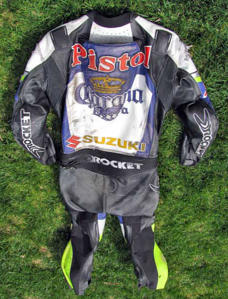 "Ben ""Pistol"" Attard Racing Leathers"
